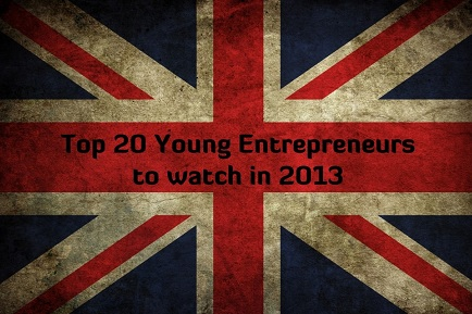 20 UK young entrepreneurs to watch in 2013