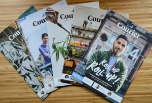 Courier magazine seedrs