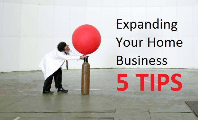 Expanding home business