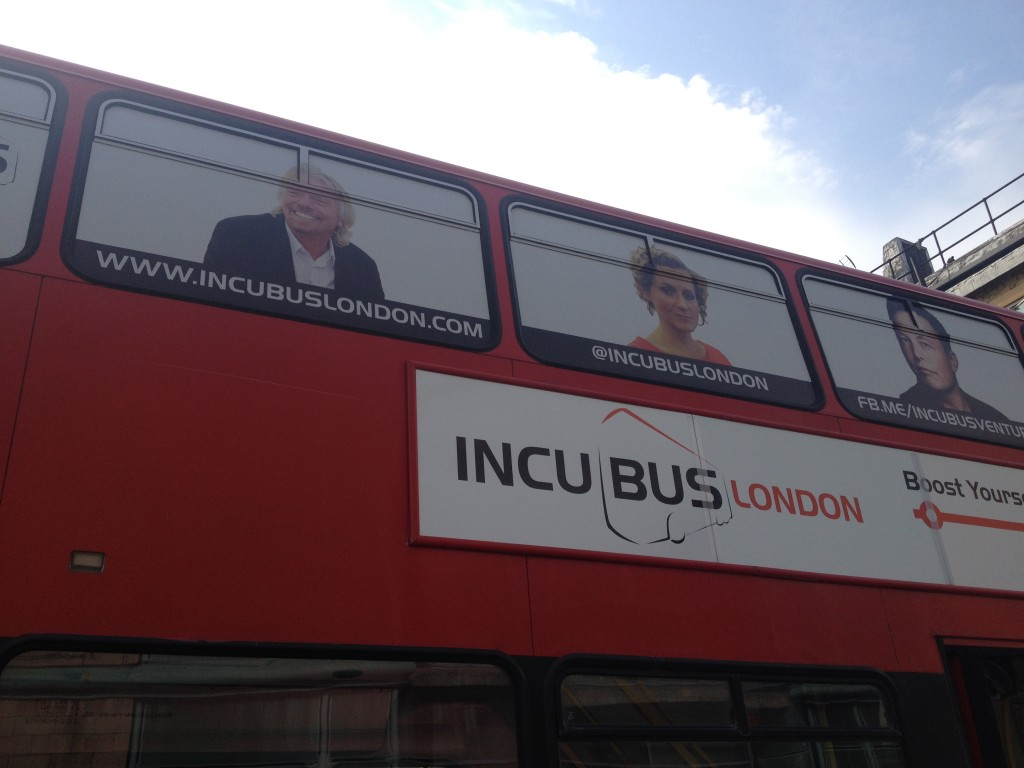 IncuBus London Class 3 Applications