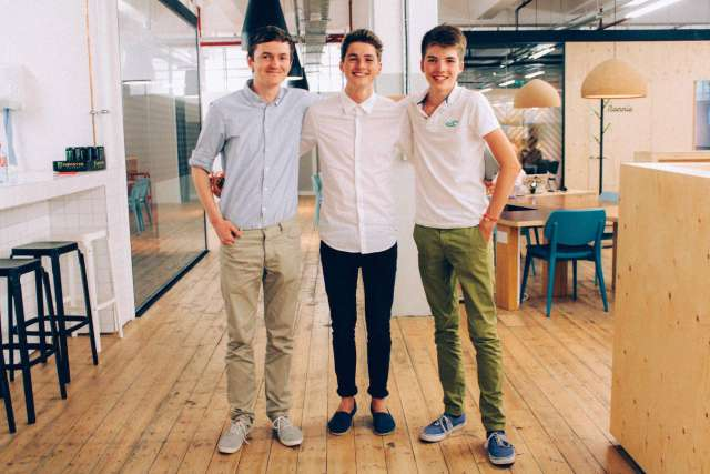 James Anderson and George Streten - young entrepreneurs to watch in 2015