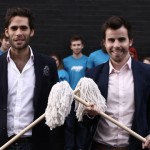 Pete Dowds and Tom Brooks look to Mopp up the cleaning industry
