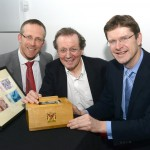 Nick Sturge, George Ferguson - Mayor, Greg Clark MP - Minister for Cities.