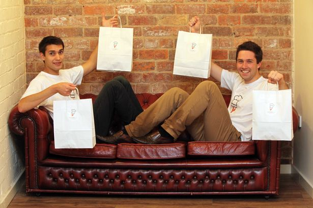 Robin Bilgil Simon Edwards - young entrepreneurs to watch in 2015