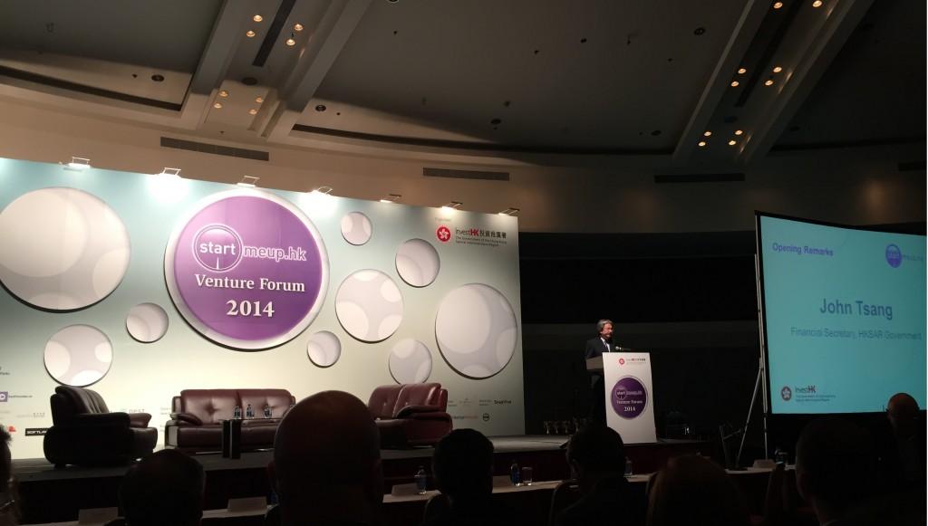 StartmeupHK Venture Forum 2014