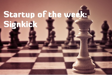 Startup of the week signkick