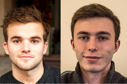 Ted Nash and Nick Reffitt - young entrepreneurs to watch in 2015