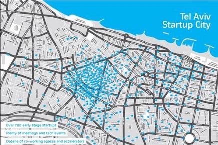 Tel Aviv startup hub