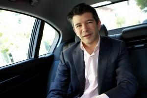 Uber founders Travis Kalanick