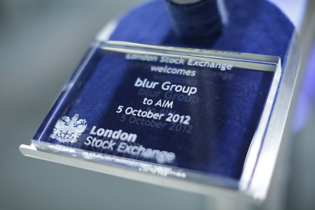 blur Group LSE AIM