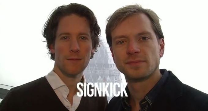 Signkick | Startup of the week